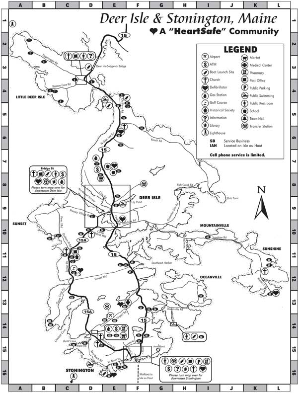 Island Map 2016